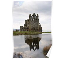 Whitby Abbey - North Yorkshire Poster