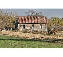 Johnson County Rustic Photographic Print