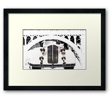 From Under The Arcade Framed Print