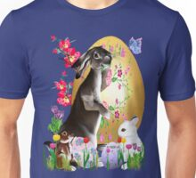 A Good Three Bunny Easter  Unisex T-Shirt