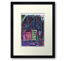 Funky Town Framed Print