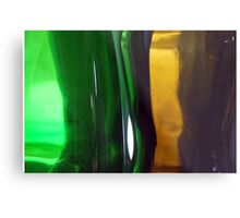 Liquid Language  Metal Print