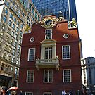 Old State House , Boston, Massachusetts by Lee d'Entremont