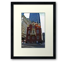 Old State House , Boston, Massachusetts Framed Print