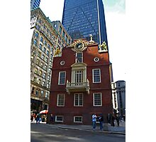 Old State House , Boston, Massachusetts Photographic Print