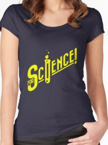 For Science geek funny nerd Women's Fitted Scoop T-Shirt
