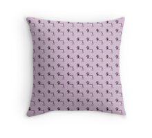 Mystrade Pattern Rose Throw Pillow