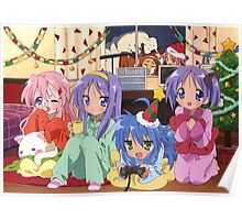 Lucky star xmas pajama party Poster