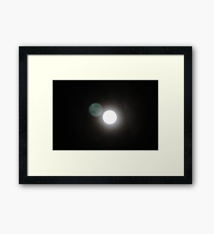 Supermoon Framed Print