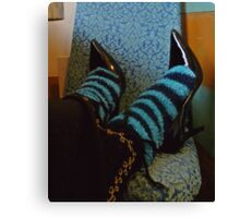03-19-11: Shoes & Socks Canvas Print