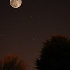 The Moon and Ursa Major by Chris Day