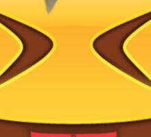 Crazy Flower Crown Emoji Sticker