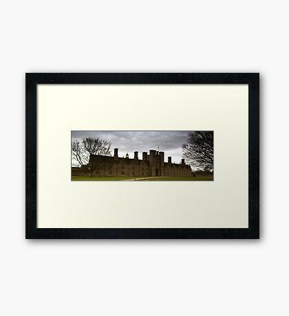 Knole House Framed Print