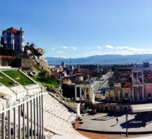 Plovdiv, BULGARIA - European Capital of Culture in 2019 Sticker