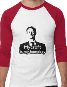 Mycroft is My Homeboy Men's Baseball ¾ T-Shirt