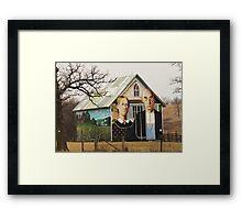 An American Gothic Framed Print