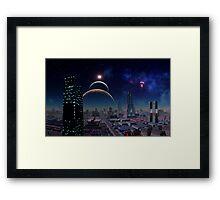 Under An Alien Sun Framed Print