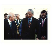 South African Leaders Art Print