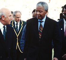 South African Leaders by Richard Shakenovsky