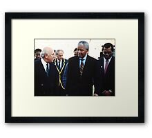 South African Leaders Framed Print