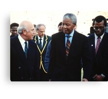 South African Leaders Canvas Print