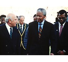 South African Leaders Photographic Print