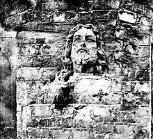 Brick Wall Jesus by Madeleine Forsberg