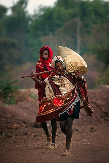 Off to Market in Bahir Dah by Heather Prince ( Hartkamp )