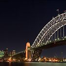 Sydney Harbour Bridge at Night III by pacian