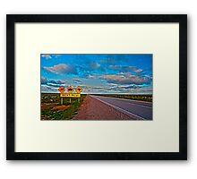 Nullarbor-HDR Framed Print