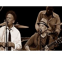 Simon & Garfunkel Live In  Concert Photographic Print