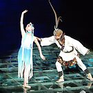 Jiuzhaigou Theatre Performance - China by Alwyn Simple
