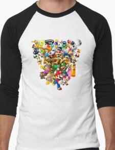 Mario Bros - All Star Men's Baseball ¾ T-Shirt