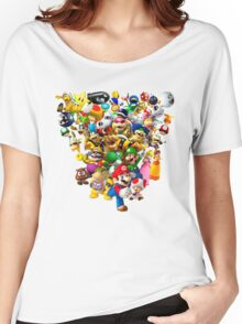 Mario Bros - All Star Women's Relaxed Fit T-Shirt