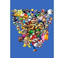 Mario Bros - All Star Photographic Print
