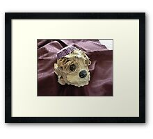 Muffin Dog Framed Print