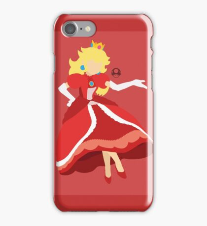Peach (Red) - Super Smash Bros. iPhone Case/Skin