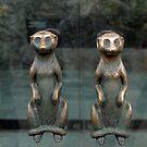 Meerkat Door Handles by SuddenJim