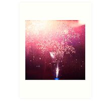 Painted with light. Art Print