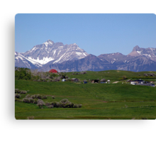 Foothills Ranch Canvas Print