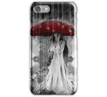 Girl in Rain iPhone Case/Skin