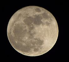 MOON OVER AUBURN 3-19-11 by David Dehner