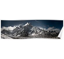 Everest Panorama Poster