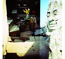in the sun, siem reap, cambodia Photographic Print