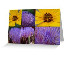Artichokes flowers Greeting Card