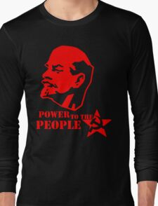 lenin - power to the people Long Sleeve T-Shirt
