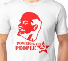 lenin - power to the people Unisex T-Shirt