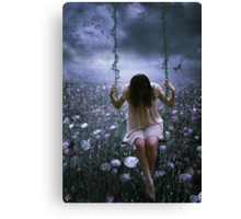 One Is A Lonely Song... Canvas Print