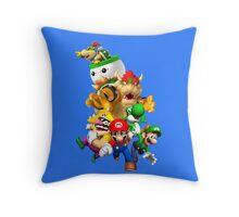 Mario 64 Throw Pillow