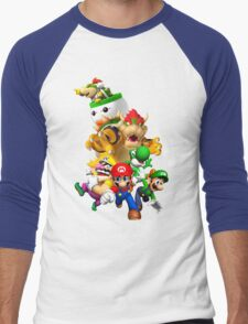 Mario 64 Men's Baseball ¾ T-Shirt